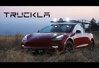 BIZAR – Tesla Model 3: nu ook als pick-up #1