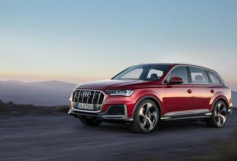 Facelift Audi Q7 is antwoord op de X5 en GLE #1