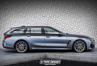 BMW 8 Reeks Touring is sexy alternatief voor Porsche Panamera Sport Turismo #1