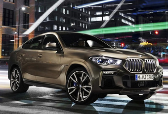 BMW X6 : la fuite #1