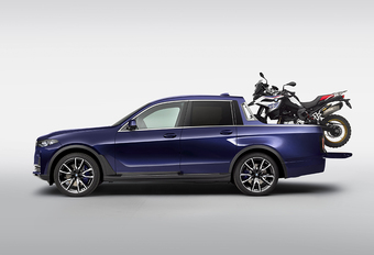 Dit is de BMW X7… Pick-up #1
