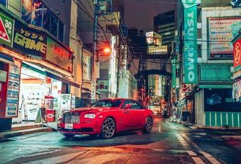 Fotogalerij: Rolls-Royce Black Badge in Tokio door 3 fotografen #1