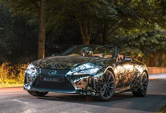 Lexus : La LC Cabrio va devenir réalité #1