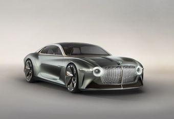 Bentley Exp 100 GT : elektrische conceptstudie met artificiële intelligentie #1