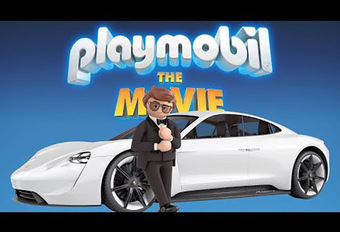Playmobil : un film avec la Mission E de Porsche ! #1