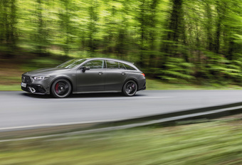 Mercedes-AMG CLA 45: ook als Shooting Brake #1