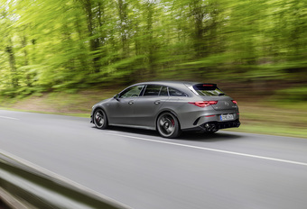 Mercedes-AMG CLA 45 nu ook als Shooting Brake #1