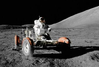 Lunar Roving Vehicle: met de auto op de maan #1
