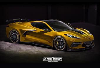 Corvette ZR1 wordt reuzendoder #1