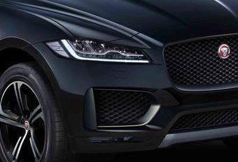 Jaguar J-Pace : grand SUV de luxe #1