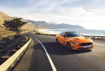 Ford Mustang55 is verjaardagscadeautje #1