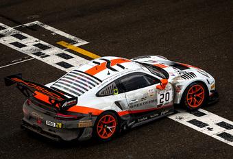 Porsche-dubbelslag in natte 24 uur van Spa-Francorchamps - met fotoalbum #1