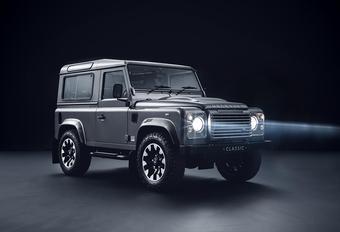 Oude Land Rover Defender krijgt nieuwe ophanging #1