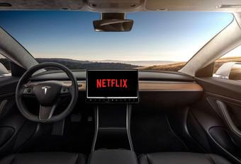 Netflix en YouTube aan boord van Tesla's #1