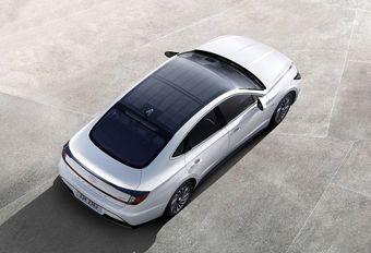 Hyundai Sonata à toit solaire : 1300 km #1