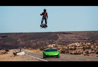 Vliegende auto door Franky Zapata #1