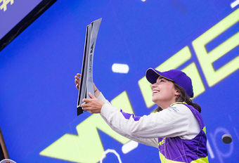 Jamie Chadwick is eerste W Series-kampioen #1