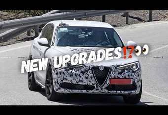 Alfa Romeo Stelvio: facelift met hybridisatie? #1