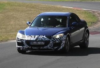 Mazda: wat doet deze test-RX-8 op de Ring? #1