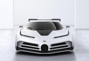 Bugatti dévoile Centodieci : 10 exemplaires de 1600 ch #1