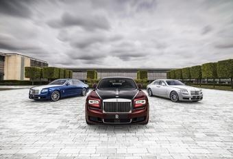 De zwanenzang van de Rolls-Royce Ghost #1