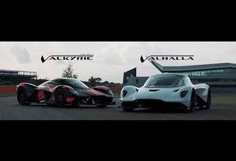 Aston Martin: eerste galop voor de Valhalla #1