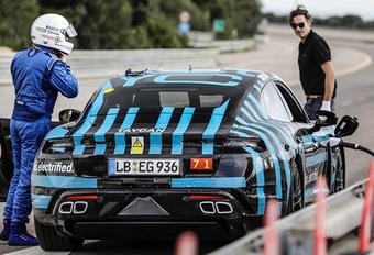 Porsche: 3400 km in 24 uur voor de Taycan  #1