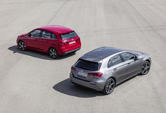 Mercedes A en B 250 e: meer dan 60 km elektrisch #1