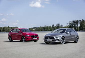 Mercedes A- en B-Klasse nu ook als plug-in 250 e #1