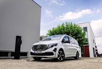 Mercedes EQV : 90 kWh et 405 km #1