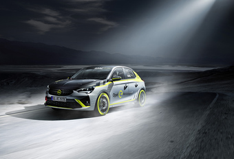 Opel Corsa-e Rally is eerste elektrische rallywagen #1