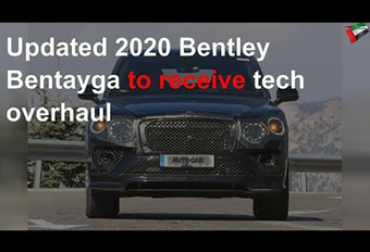 Bentley Bentayga: facelift in zicht #1