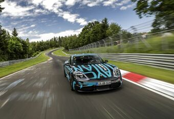 Porsche Taycan is snelste elektrische vierdeurs op de Nürburgring #1