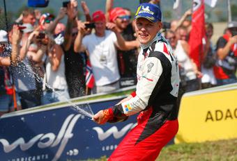 Tänak wint rally van Duitsland, pechvogel Neuville toch nog vierde #1