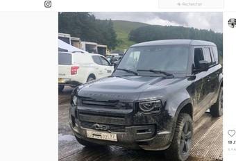 Land Rover Defender: gesnapt bij James Bond? #1