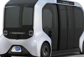Des Toyota autonomes aux JO de Tokyo #1
