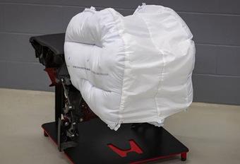 Honda : un airbag frontal plus efficace #1