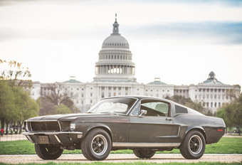 Ford Mustang Bullitt : estimée à plus de 3 millions d'euros #1