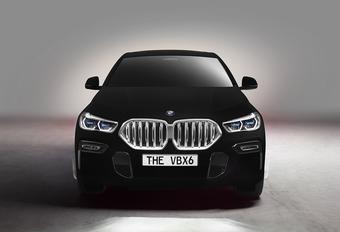 BMW maakt een X6 showcar... die je niet kan zien #1