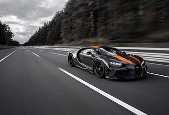 Bugatti: record van 490,484 km/u #1