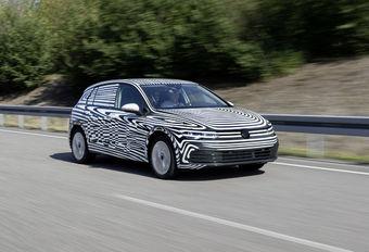 Laatste rechte lijn voor Volkswagen Golf VIII #1
