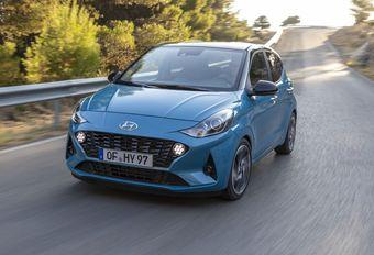 Hyundai i10 : nouvelle bouille #1