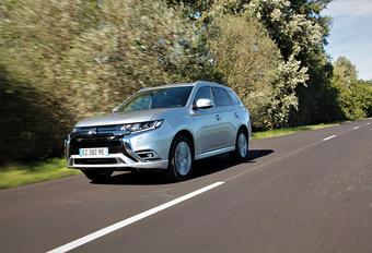 Mitsubishi Outlander PHEV 2020 : micro mise à jour #1