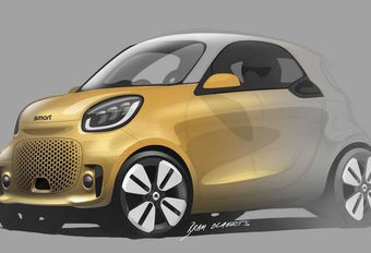 Smart ForTwo EQ : facelift avant de partir en Chine #1