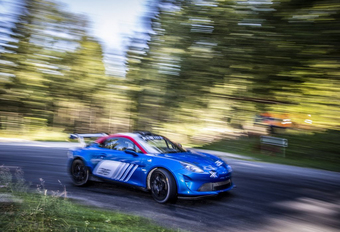 Alpine A110 Rally is klaar om te knallen #1