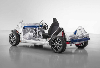 Toyota GA-B : la plate-forme de la future Yaris #1
