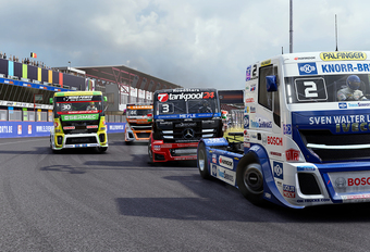 Gametest: FIA European Truck Racing Championship (PS4) #1