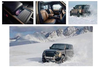 Land Rover Defender lekt op Instagram #1