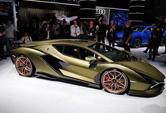 De 5 belangrijkste nieuwigheden op de IAA Frankfurt: Lamborghini Sián FKP 37 #1