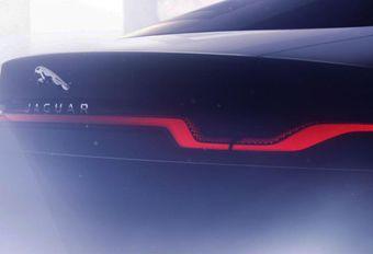 Jaguar XJ : teaser elektrische limousine #1